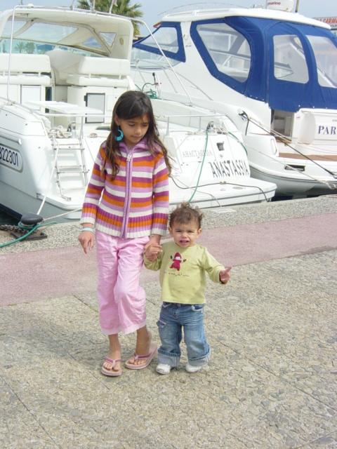 le port de Cavalaire (var)